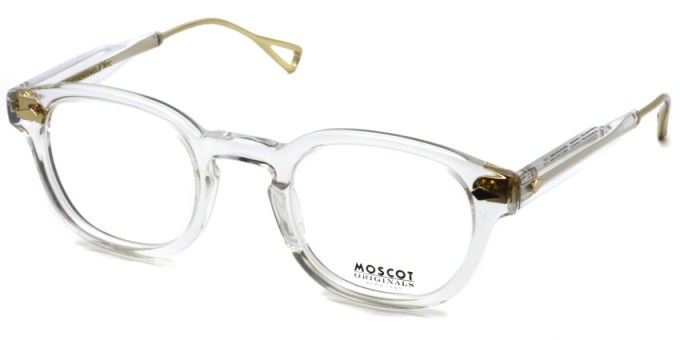 MOSCOT / LEMTOSH TT SE / Crystal - Gold / ¥39,000 + tax