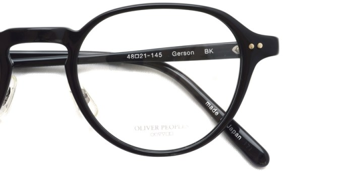 OLIVER PEOPLES / GERSON / BK / ¥36,000 + tax