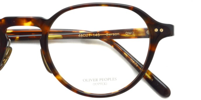 OLIVER PEOPLES / GERSON / DM2 / ¥36,000 + tax