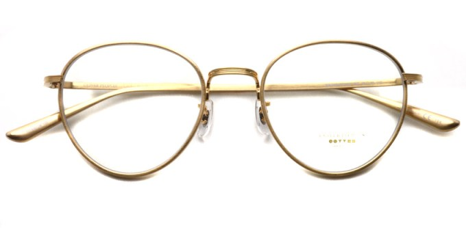 OLIVER PEOPLES THE ROW / BROWNSTONE / BG / ¥43,000 + tax