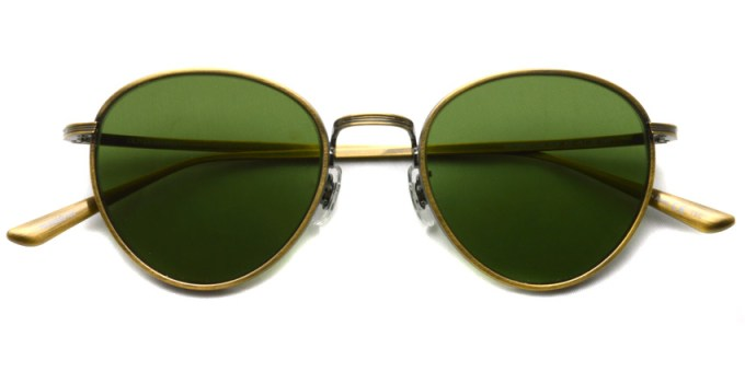 OLIVER PEOPLES THE ROW / BROWNSTONE Sun / AG-G.GRN / ¥45,000 + tax