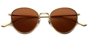 OLIVER PEOPLES THE ROW / BROWNSTONE Sun / BG-G.PER / ¥45,000 + tax