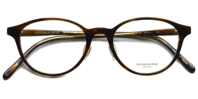 OLIVER PEOPLES / MAREEN-J / VOT / ¥30,000 + tax
