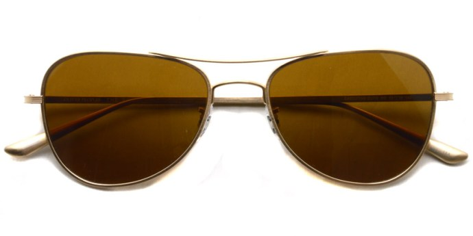 OLIVER PEOPLES THE ROW / EXECUTIVE SUITE / BG - G.BR  / ¥43,000 + tax