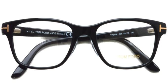 """TOMFORD / TF5196 """"Asian Fit"""" / 001  /  ¥38,000+ tax"""