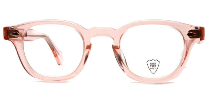 JULIUS TART OPTICAL / AR / Flesh Pink / Bridge : 24mm / ¥37,000+tax