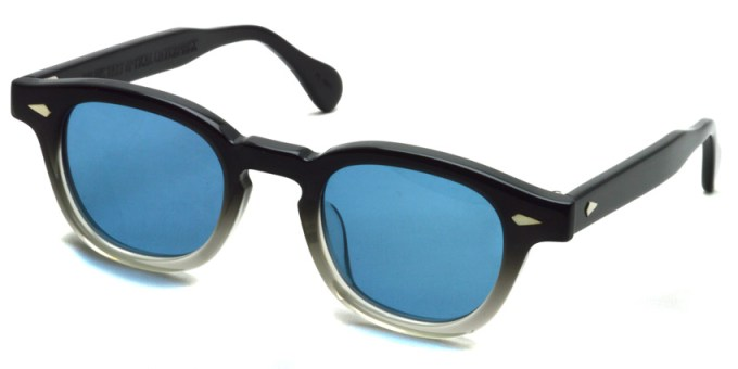 JULIUS TART OPTICAL / AR Sun / Black Clear Fade - Blue / Bridge : 22mm / ¥38,000+tax
