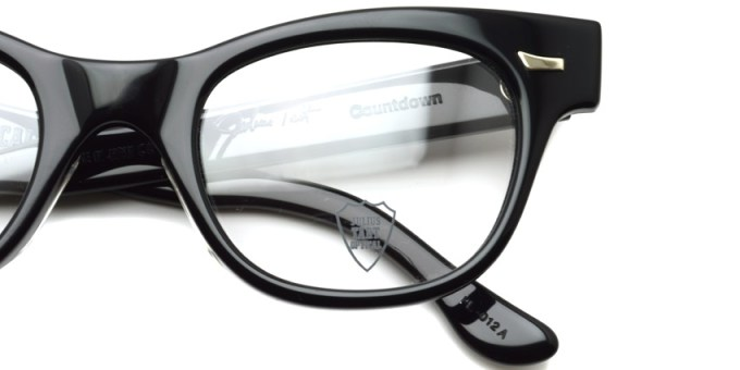 JULIUS TART OPTICAL / COUNTDOWN / BLACK / ¥37,000+tax