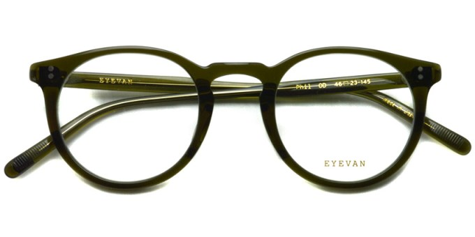 EYEVAN / PHIL / OD / ¥26,000+tax