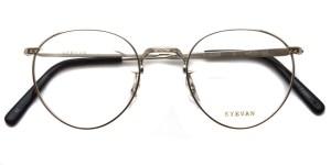 EYEVAN / E-0020 / Silver / ¥29,000+tax