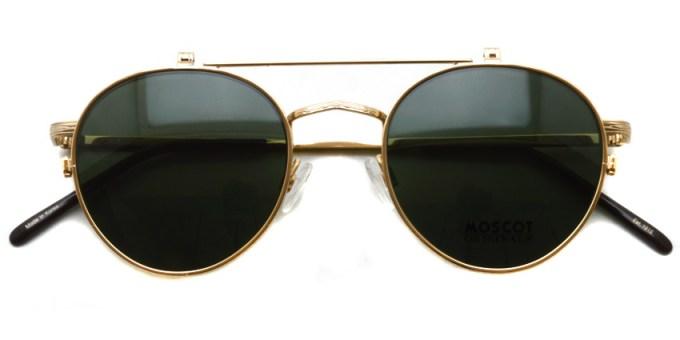 MOSCOT / DREY CLIP-FLIP / Gold / ¥36,000 +tax