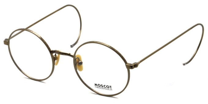 MOSCOT / HAMISH / ANTIQUE GOLD / ¥32,000+tax