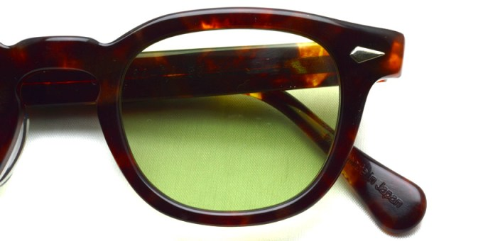 TART OPTICAL ARNEL / JD-04 Sun / 002 WALNUT - Light Green / ¥38,000 + tax