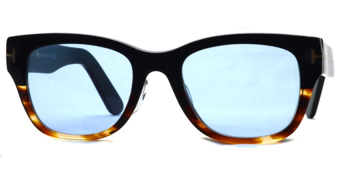 "TOMFORD / TF5379 ""Asian Fit"" / 005 - Light Blue Lenses"