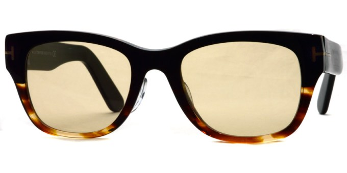 "TOMFORD / TF5379 ""Asian Fit"" / 005 - Light Brown Lenses"