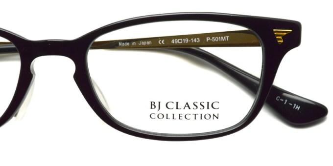 BJ CLASSIC  /  P-501MT  /  color* 1 - 1H  /  ¥28,000 +tax