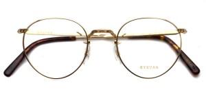 EYEVAN / E-0020 / Gold / ¥29,000+tax