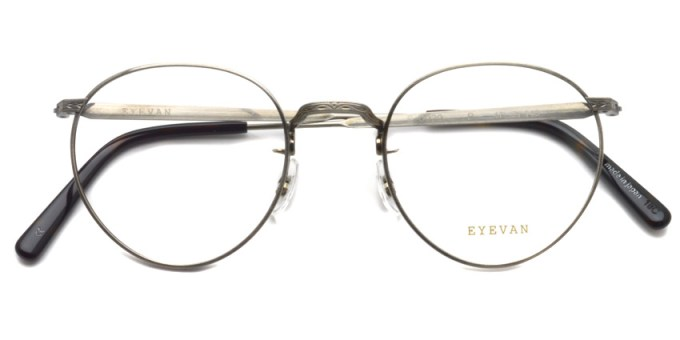 EYEVAN / E-0020 / Pewter / ¥29,000+tax