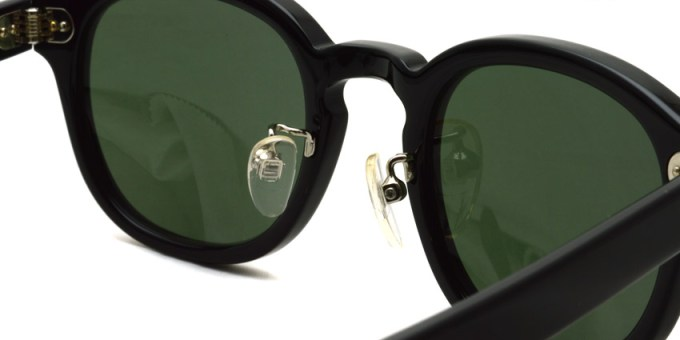 MOSCOT / LEMTOSH Sun w/ METAL NOSE PADS / BK-G15 / ¥34,000+tax