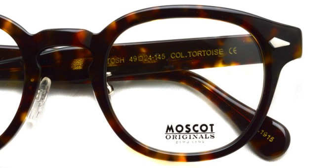 MOSCOT / LEMTOSH w/ METAL NOSE PADS / TORTOISE / ¥31,000+tax