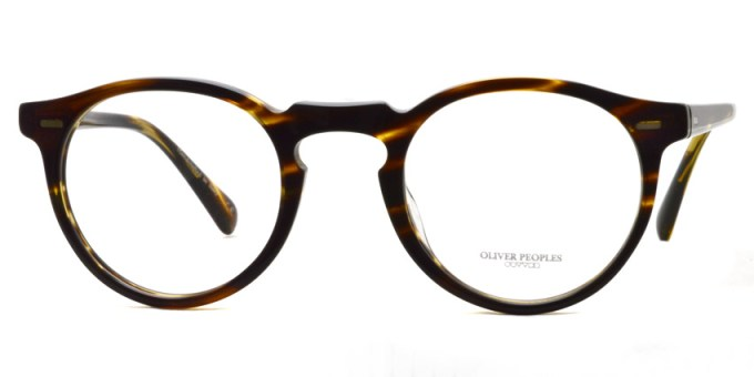 OLIVER PEOPLES / GREGORY PECK(A) OB5186A / 1003 COCOBOLO / ¥29,000+tax