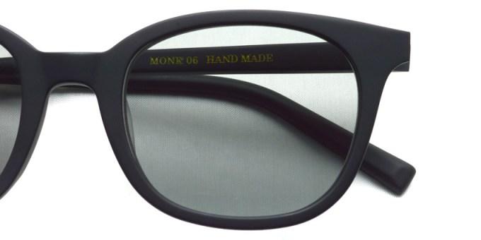 A.D.S.R. / MONK06(b) / Matte Black - Gray Lenses / ¥18,000 + tax