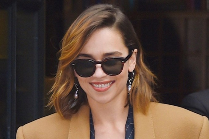 OLIVER PEOPLES / CARY GRANT Sun / wearing Emilia Clark