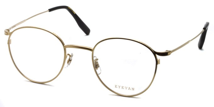 EYEVAN / QUINCY / Gold / ¥33,000 +tax