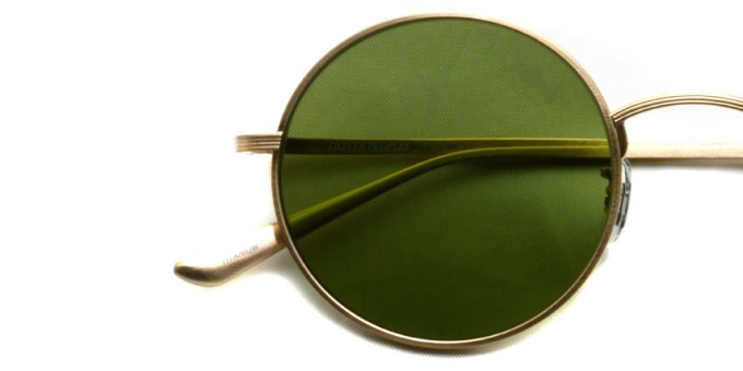 OLIVER PEOPLES THE ROW / AFTER MIDNIGHT - OV1197ST - / 525252 BRUSHED GOLD - Green / ¥39,000 + tax