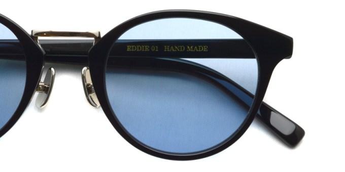 A.D.S.R. / EDDIE01 / Shiny Black / Silver - Light Blue / ¥18,000 +tax