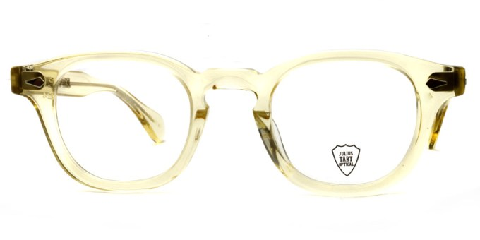 JULIUS TART OPTICAL / AR / bridge : 24mm / Champaign / ¥37,000+tax