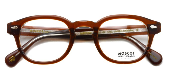 MOSCOT / LEMTOSH / UMBER CRYSTAL / ¥31,000+tax