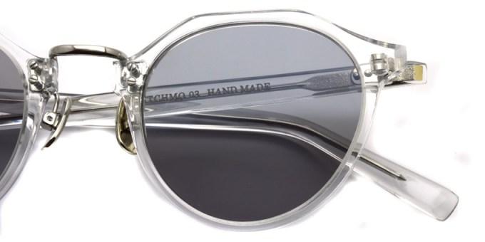 A.D.S.R. / SATCHMO03 (d) / Clear - Gold- Light Grey / ¥19,000 + tax