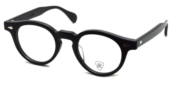 JULIUS TART OPTICAL / HAROLD / BLACK / ¥37,000+tax