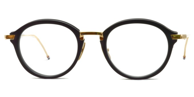 Thom Browne / TB-011 / Matte Black - White Gold / ¥65,000+tax