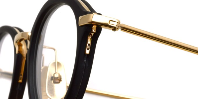 Thom Browne / TB-011 / Matte Black - White Gold / ¥65,000+tax