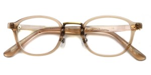 STEADY / STD-81 / C/5 Crystal Brown - Antique Gold / ¥32,000+tax