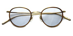 CLAYTON FRANKLIN / 606 Sun / AGP/MDM - Light Blue Gray Lenses / ¥33,000 + tax