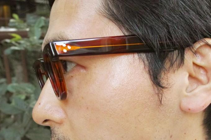 JULIUS TART OPTICAL / FDR / AMBER / ¥37,000+tax