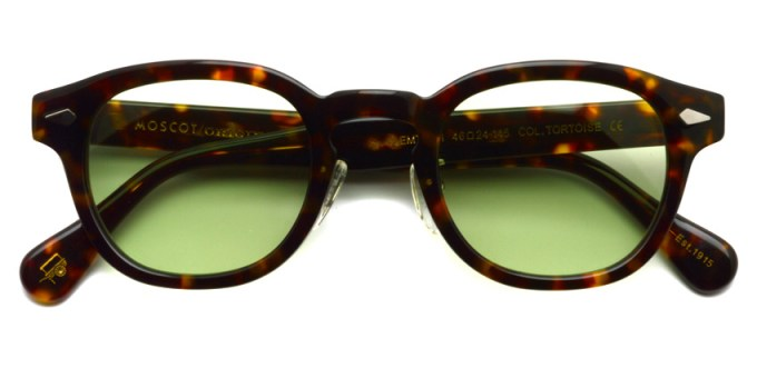 MOSCOT / LEMTOSH MP Sun / TORTOISE - Light GREEN / ¥34,000 + tax