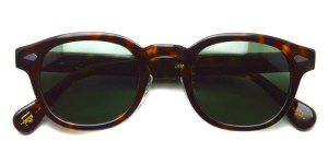 MOSCOT / LEMTOSH Sun w/ METAL NOSE PADS / TORTOISE-G15 / ¥34,000+tax