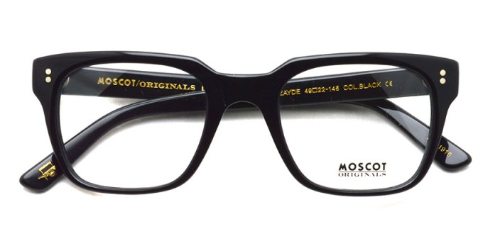 MOSCOT / ZAYDE / BLACK / ¥31,000+tax