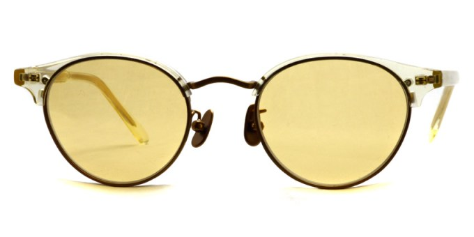 A.D.S.R. / MUTE / 06 Clear Yellow/Antique Gold / ¥20,000+tax