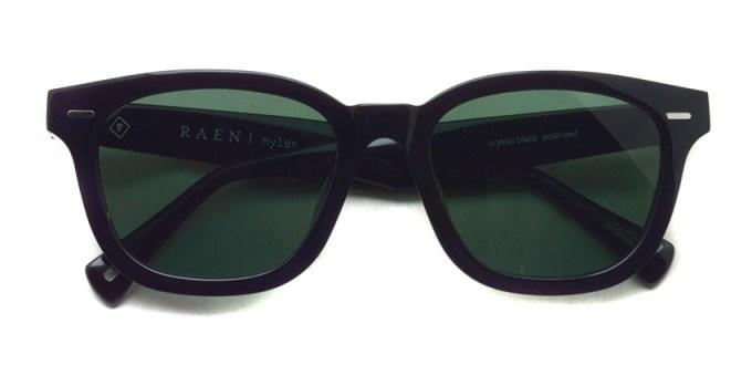 RAEN optics / MYLES / Crystal Black - Dark Green Polar / ¥21,000+tax