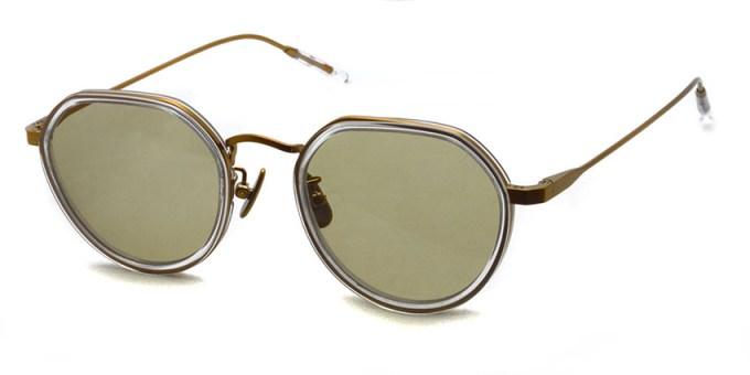 A.D.S.R. / FANNI04 / Clear / Antique Gold - Lt.Brown Lenses / ¥21,000+tax