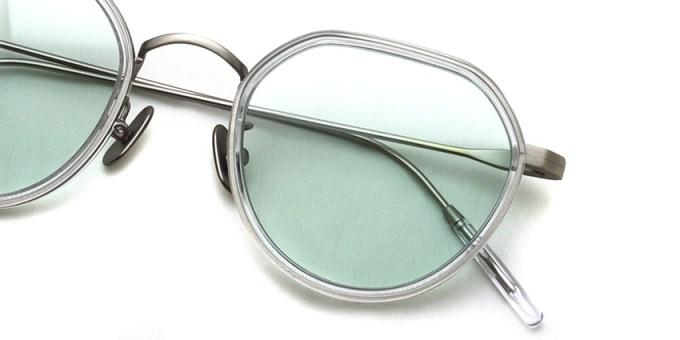 A.D.S.R. / FANNI05 / Clear / Antique Silver - Lt.Green Lenses / ¥21,000+tax