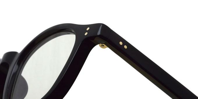 guepard / gp-01 / noir / Light Green Flat Lenses / ¥27,000+tax