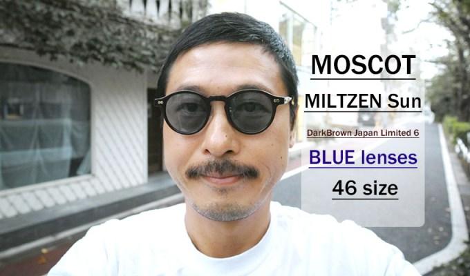 MOSCOT / MILTZEN / DB Japan Limited Ⅵ - BLUE / ¥35,000 + tax