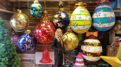 3D Easter Eggs and Baubles
