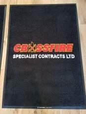 Crossfire logo mat 1